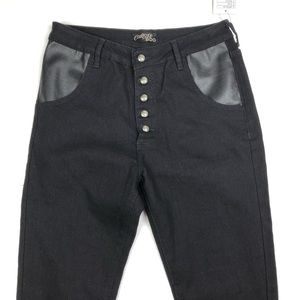 Courtshop x BDG Black Skinny Jeans